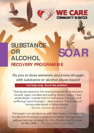 WE CARE Community Services : Alcohol Addiction